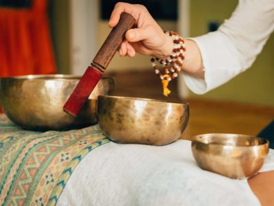 For the touch sensitive: enter theraputic singing bowls!